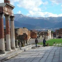 """Non bastava l'incuria, ora anche i turisti stranieri fanno """"a pezzi"""" Pompei per arredare i propri salotti.."""