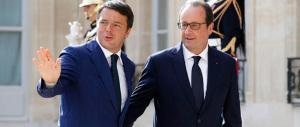 Da Parigi l'accusa di Renzi ai radical chic: «Pensano che io non sia di sinistra…»