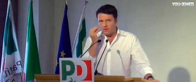 Renzi: la sinistra è dove c'è innovazione, l'art. 18 non c'è nella Costituzione