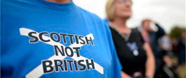 "Scozia ""indipendente""? Panico a Downing Street"