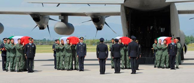 Beccalossi e La Russa rendono omaggio ai quattro piloti dei ...