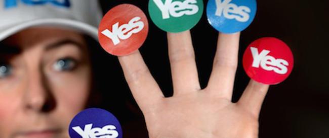 Bando alla tirchieria e tutti al voto: taxi gratis a Edimburgo per i sostenitori della secessione