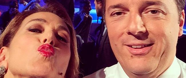 Domenica non è sempre Domenica: se il monologo lo fa Renzi, nessuno protesta