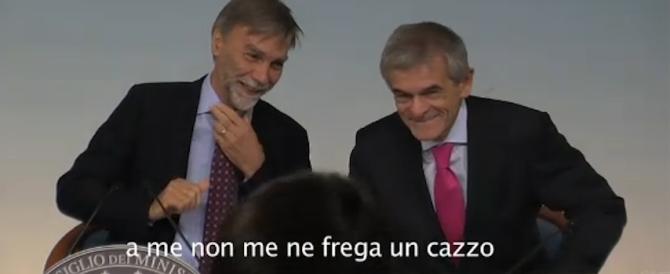 """Regioni, il """"fuorionda"""" di Delrio: «Parlo io, tanto non me ne frega un c…»"""