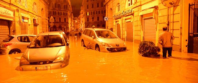 La giunta ligure dopo l'alluvione se la prende con il meteo: «Non ci ha avvertito del pericolo»