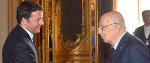 Il Pd pronto a scaricare la crisi su Napolitano. Ma a difenderlo sarà il Cav
