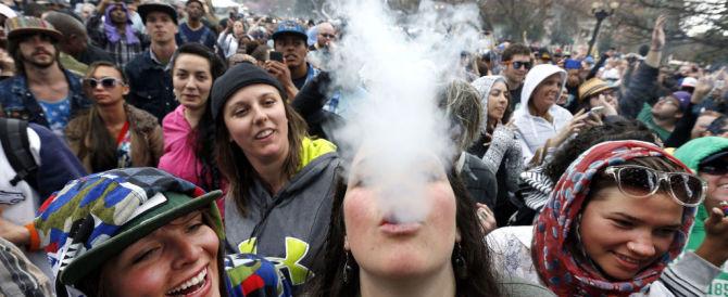 Il cattivo esempio dell'America che legalizza la droga