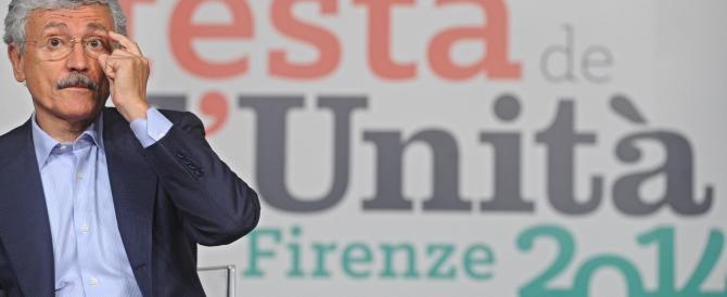 D'Alema a gamba tesa su Renzi: «Stai facendo solo chiacchiere»