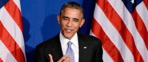 La caduta degli dèi: parla Obama, il pubblico si alza e abbandona la sala