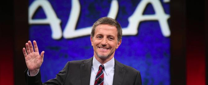 Fuga dal talk show fazioso, auditel a picco: un altro martedì nero per il tandem rosso Giannini-Floris