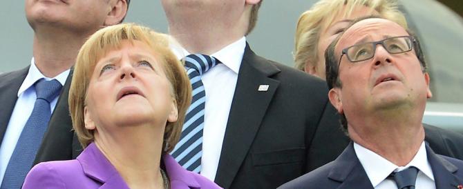 Schiaffo alla Merkel, la Francia si ribella al Patto di Stabilità. Anche Hollande ha sbagliato le stime…