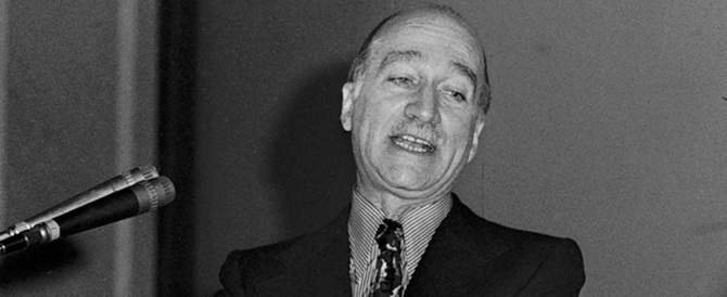 Beccalossi: «Un premio giornalistico dedicato a Giorgio Almirante»