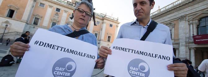 Le nozze gay celebrate da Marino mandano in crisi la coppia Angelino-Matteo