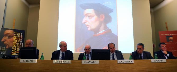 """Il Machiavelli """"vivace"""" portato in Italia da Alessandro Campi"""