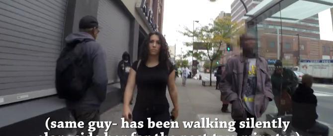 New York, ragazza cammina per strada e subisce 108 ammiccamenti