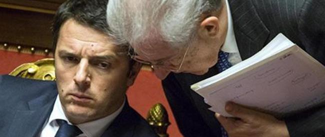 Scelta Civica a brandelli: i montiani se ne vanno a cuccia da Renzi