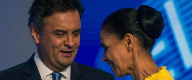 Brasile: da outsider nella sfida tra pasionarie, ora il conservatore Neves è l'uomo da battere