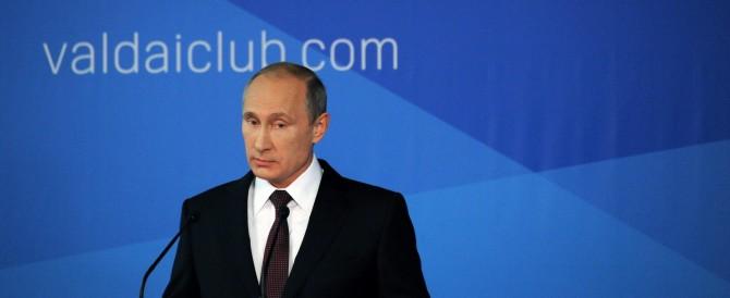 Putin contro il «mondo unilaterale» a stelle e strisce: «Genera caos»