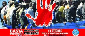 «Basta sbarchi»: da Reggio a Milano centrodestra in piazza contro l'immigrazione clandestina