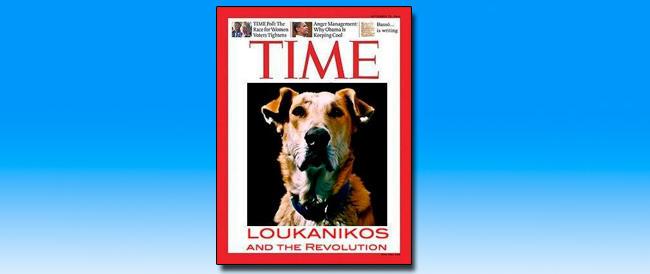 Atene dà l'addio a Loukanikos, il cane simbolo della lotta contro l'austerity