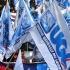 Roma, l'Ugl in piazza: in migliaia contro la presa in giro del Jobs Act