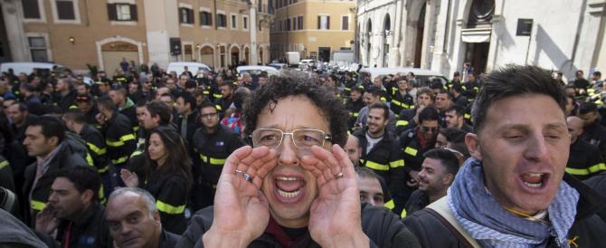 I vigili di nuovo in guerra contro Marino: siamo pronti allo sciopero