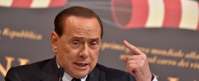 Berlusconi ai suoi: il Paese non si governa con gli slogan di Salvini