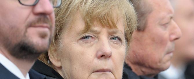 L'Europa richiama anche la Germania. E la Merkel litiga con gli imprenditori