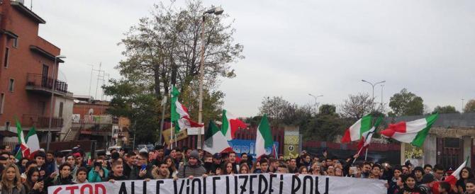 CasaPound e gli alunni rom: né picchetti né violenza, è tutto falso