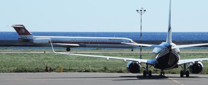 Collisione sfiorata fra aereo diretto a Roma e caccia russo