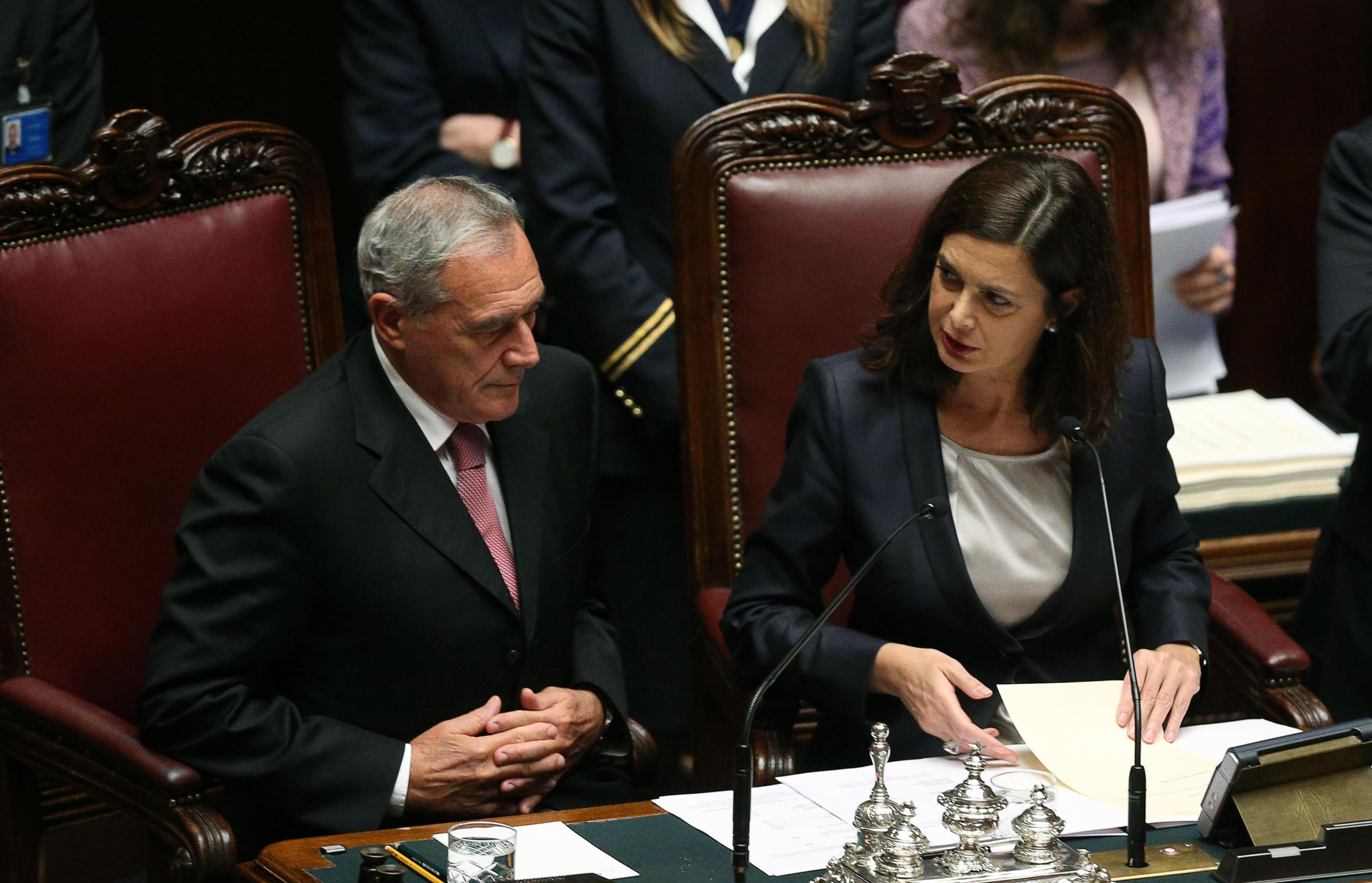 Tor sapienza grasso smentisce la boldrini non for Parlamentari italiani numero