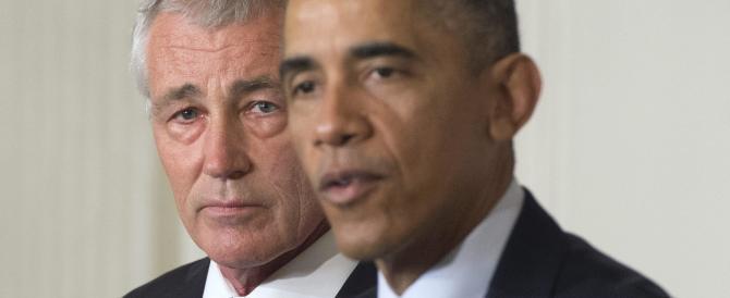Obama in caduta libera: si dimette anche il capo del Pentagono