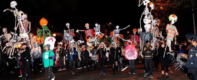 La notte nera di Halloween non è più una festa per bambini