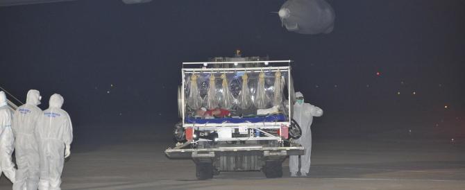 Ebola sbarca a Roma. E Gino Strada si dimentica di chiamare…