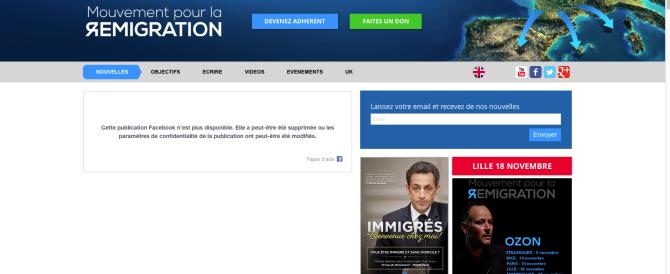 Francia, sinistra nel mirino della satira: «Immigrati, andate nelle loro ville…»