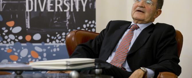 """Anche Prodi non crede più in questa Europa: """"non ha più politica, né idee"""""""