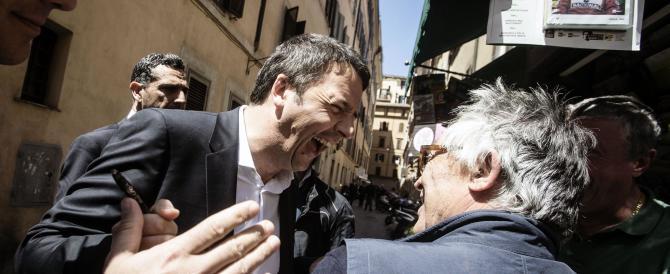 """Immigrazione, Renzi china il capo perché ha paura della """"maestra"""""""