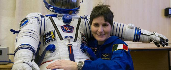 Samantha Cristoforetti è a bordo dell'Iss, via alla missione Futura