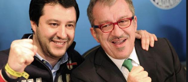 Berlusconi e Maroni, metti una sera a cena a parlare del giovane Salvini