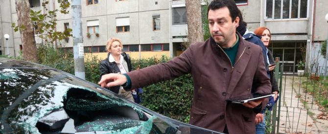 «Nessuno sconto ai centri sociali, sono violenti». La solidarietà a Salvini