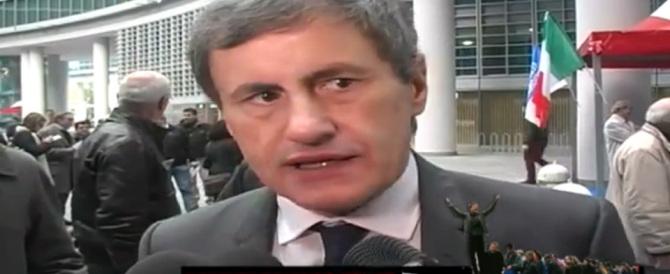 Alemanno: «Ripartiamo da concetti forti, c'è bisogno di più Italia» (video)