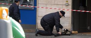 Disinnescata una bomba davanti a una banca a Napoli: poteva esplodere