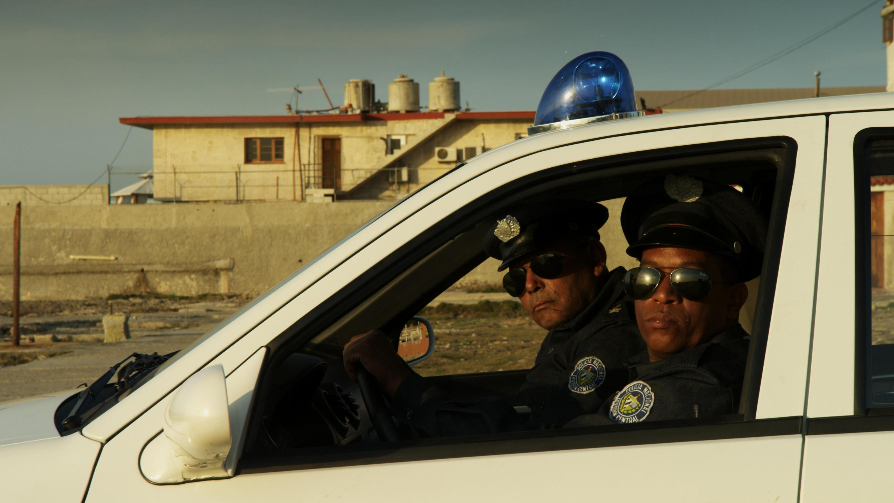 Poliziotti all'Avana