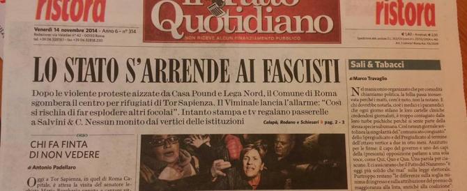 """La pasionaria comunista che """"Il Fatto"""" trasforma in """"fascista"""""""
