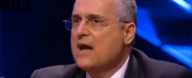 """La gaffe di Lotito: Tavecchio razzista? Ma se ha adottato dei """"cosi""""… (video)"""