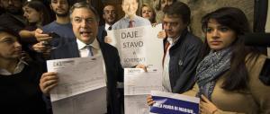 Augello smaschera Marino sulle multe: il dossier è falso, ecco le prove