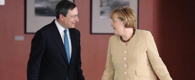 Merkel ha già scelto chi salirà al Quirinale: Mario Draghi