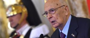 Ecco i 5 motivi per cui Napolitano sbatte la porta e si dimette