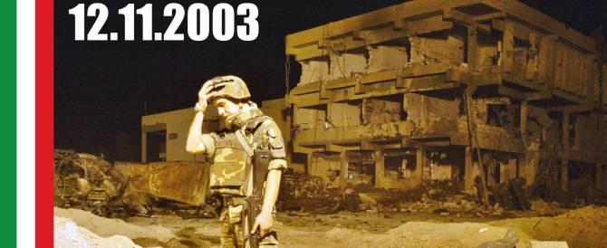 L'Italia non dimentica Nassiriya: i Caduti ricordati da tutto il centrodestra
