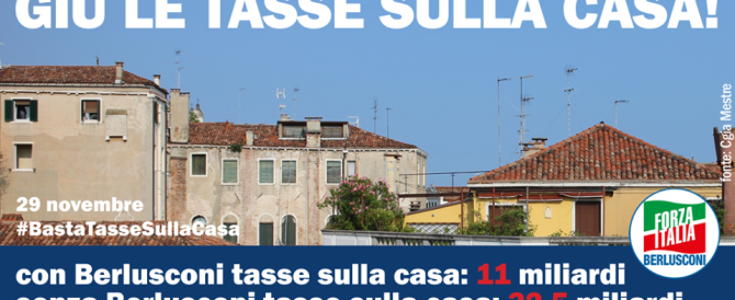 """""""Basta tasse sulla casa"""": i 5 dati che confermano l'Italia maglia nera"""